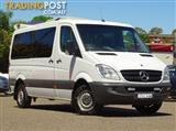 2012 MERCEDES-BENZ SPRINTER 316CDI NCV3 CAB CHASSIS