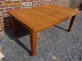 Beautiful oak dining table.