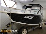 2008 Quintrex 570 Freedom Cruiser 180 hrs only