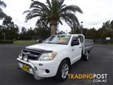 2006  TOYOTA HILUX SR GGN15R MY07 2D CAB CHASSIS