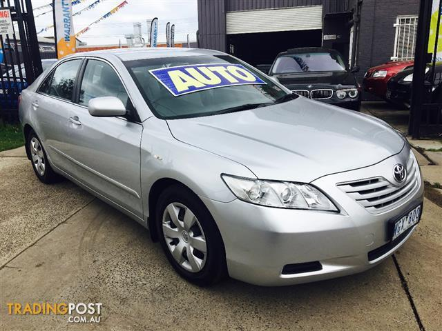 2008 toyota camry altise acv40r 07 upgrade 4d sedan for. Black Bedroom Furniture Sets. Home Design Ideas