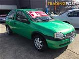 1998 HOLDEN BARINA CITY SB 3D HATCHBACK