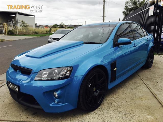2007 HSV CLUBSPORT R8 E SERIES 4D SEDAN
