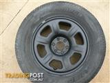 Wheel with tyre suit Navara or Pathfinder R51