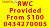 From $100 Cheap Price RWC Provided By Bajaj Auto n Apple Auto Care