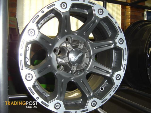 Alloy Wheels16x8 Suit