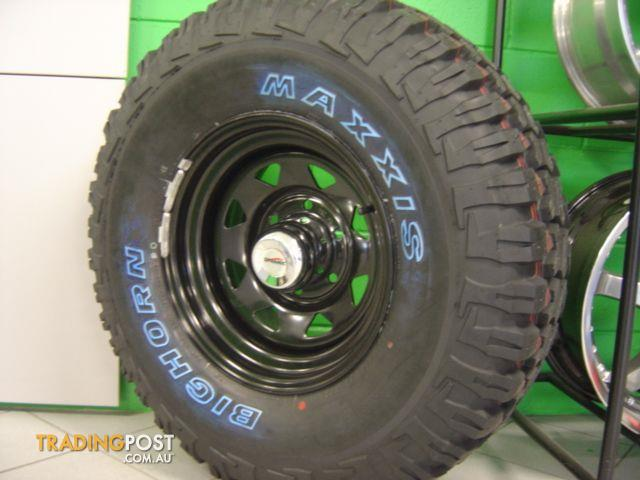 Mud tyres and rims