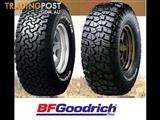 BFGoodrich TYRE SPECIALS DISCOUNTED PRICES FROM $200