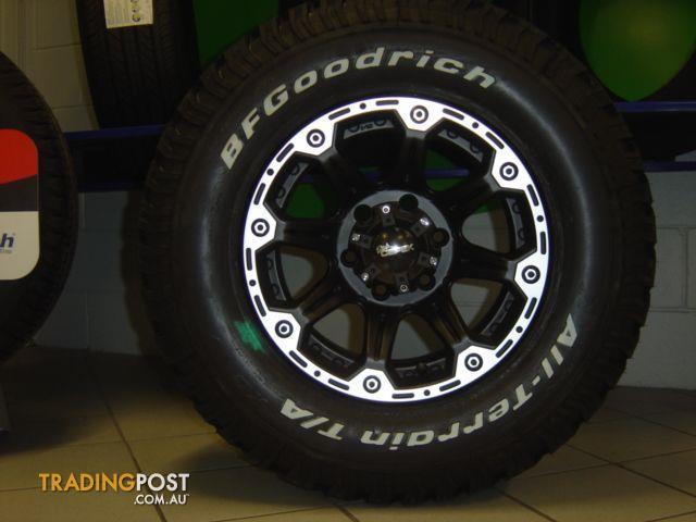 Hilux alloy wheels
