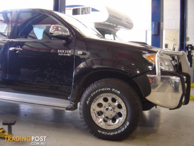 Hilux alloy wheels