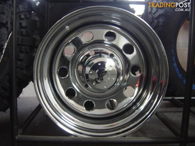 Rock Auto Sales >> Chrome Steel Wheels for sale in Tingalpa QLD | Chrome ...
