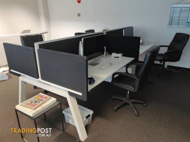 Designer Office Furniture Intended Designer Office Desks 4x Klein Modular For Sale In Port