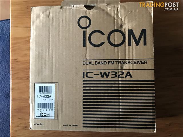 Icom-Dual-Band-FM-Transceiver-IC-W32A