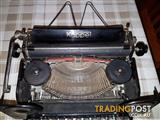 Rare Antique Kappel AG 1920s Typewriter made in Germany