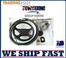 BOAT STEERING WHEEL SYSTEM QUICK CONNECT STEERING KIT , BOAT CABLE 4.57M = (15FT)