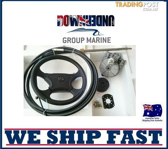BOAT STEERING WHEEL SYSTEM QUICK CONNECT STEERING KIT , BOAT CABLE 5.18M = (17FT)