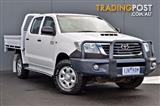 2012 TOYOTA HILUX SR KUN26R CAB CHASSIS