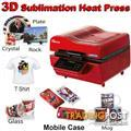 3D Vacuum dye sublimation, A4 Printer with sublimation ink