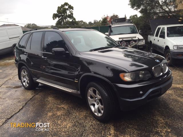 BMW X5 E53 Parts Wrecking Wreckers for sale in Wetherill Park NSW  BMW X5 E53 Parts Wrecking