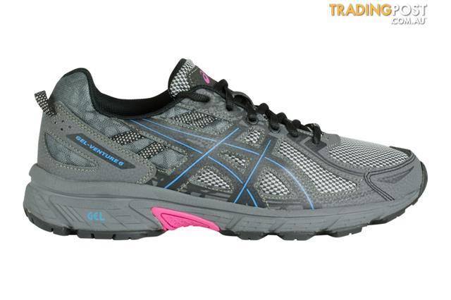 5f6d4105 ASICS-Womens-Gel-Venture-6-Running-Shoe-Black-Island-Blue-Pink-Glow ...