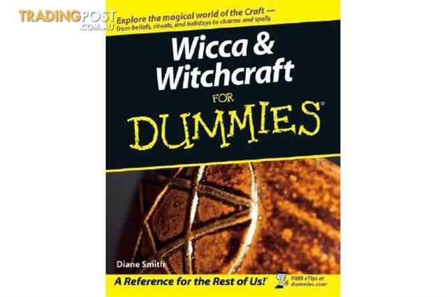 Wicca-and-Witchcraft-For-Dummies