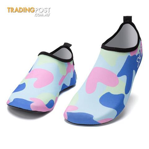 Water Shoes Barefoot Shoe Quick Dry Aqua Socks for Men Women Blueblack 9.5 D M