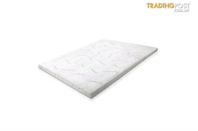 Giselle Bedding Cool Gel Memory Foam Mattress Topper Bamboo Cover