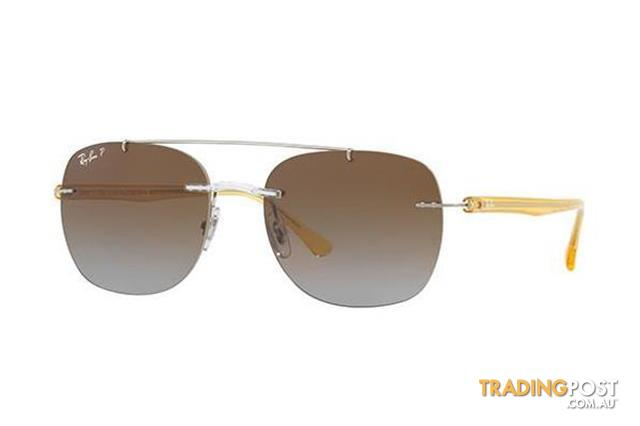 3cead8e657 Ray-Ban RB4280 55mm - Transparent (Brown Gradient Polarised lens) Mens  Sunglasses