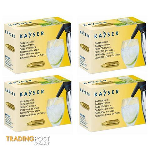 Kayser 8 gram Soda Chargers CO2 Chargers by Kayser