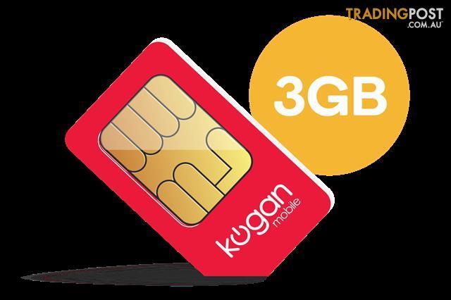 Thirty Days Ninety Days Or Three Years >> Kogan Mobile Prepaid Voucher Code Small 90 Days 3gb Per 30 Days