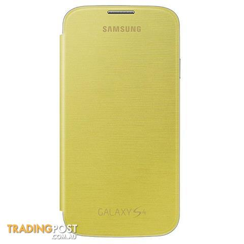 Samsung-Galaxy-S4-Flip-Cover-Yellow