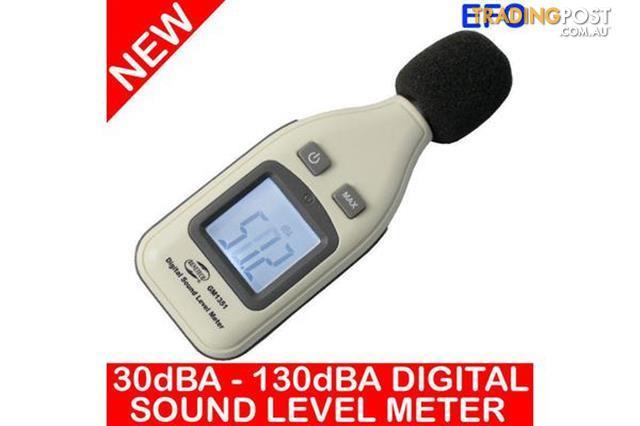 Digital-Sound-Level-Meter-30Dba-130Dba-1-5Db-Decibels-Max-Hold-Gm1351