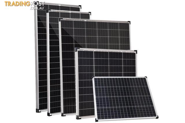 Acemor 12v 120w Solar Panel Kit Mono Camping Caravan Charging Power Battery Usb