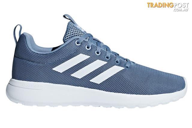 new styles 9b0d5 e869c Adidas Neo Women s Lite Racer Shoe (Raw Grey White, Size 7)