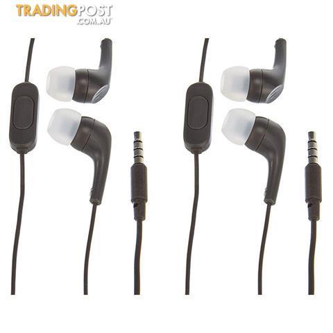 a1f73ea88a2 2x Motorola Earbuds 2 In-Ear Headphones w/ Mic Black