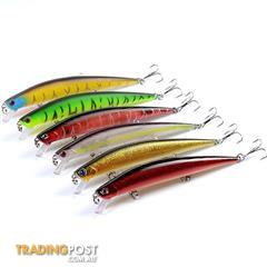 10x Popper Minnow 10.2cm Fishing Lure Lures Surface Tackle Fresh Saltwater