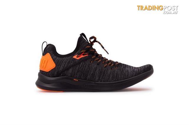 sports shoes 6fb0f aba4f Puma-Mens-Ignite-Flash-Evoknit-Unrest-Black-Size-13