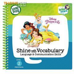 Leap Frog LeapStart Disney Shine Vocabulary 3D Book