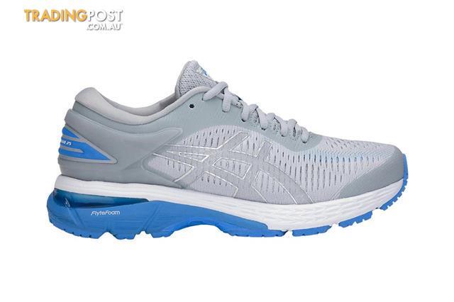ASICS-Womens-Gel-Kayano-25-Running-Shoe-Mid-Grey-Blue ...