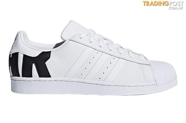 Adidas Originals Mens Superstar Shoe White Black Size 7 UK