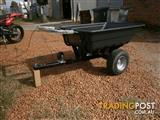 Poly cart, wheel barrow,tipping cart,atv trailer,quad bike trailer