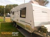 Serene 2011 Semi-Off Road 22ft Caravan