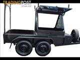 Half Box-Custom Builders Trailer (Item 9)