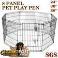 Exercise PlayPen Enclosure Dog Puppy Rabbit Cage Run Fence