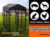 Dog Run Playpen Pet Enclosure American Kennel Club Uptown Premium