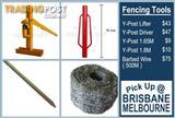 Y-Post Driver Lifter Barbed Wire Y Posts 1.8M 1.65M Fencing Tools