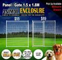 Welded Animal Pet Enclosure Mesh Panel Dog Run Kennel Playpen