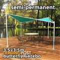 3.5x3.5m Butterfly Gazebo Party Tent MARQUEE Outdoor Pavilion