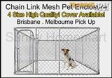 NEW Large Pet Enclosure Dog Kennel Run Animal Fencing Fence Cover