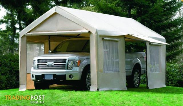 3 6m Gazebo Marquee Car Canopy Wedding Shade Market Tent